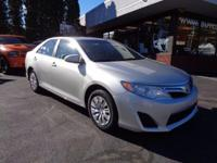 2012 Toyota Camry LE with low miles and in great shape