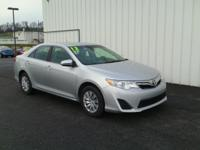 2012 Toyota Camry 35/25 Highway/City MPG  Awards: *