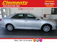 Options:  2012 Toyota Camry 4Dr Sdn I4 Auto Le|Front