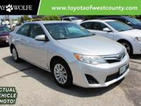 Clean CARFAX. Certified. 2012 Toyota Camry LE in