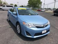 Camry LE, 4D Sedan, 2.5L I4 SMPI DOHC, 6-Speed