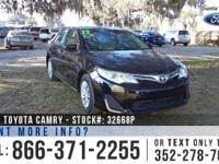 2012 Toyota Camry LE. Features: Steel Wheels - Solar