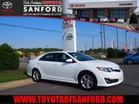 Camry SE, Toyota Certified, **NEW CAR RATES