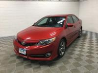 Recent Arrival! 2012 Red Toyota Camry SE 4D Sedan, 3.5L