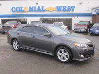 Take a look at this 2012 Toyota Camry SE W/ only 18,000