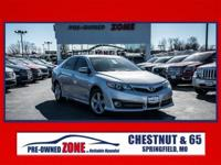 Clean CARFAX. Classic Silver Metallic 2012 Toyota Camry