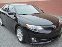Options:  2012 Toyota Camry Se|Black|Air Filter Air