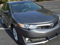 Options:  2012 Toyota Camry Se|Grey|Air Filter Air