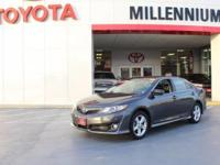 This exceptional 2012 Camry 4dr Sdn I4 Auto SE has