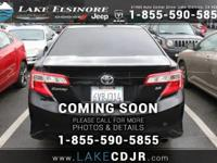 Looking for a clean, well-cared for 2012 Toyota Camry?