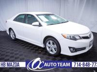 Extra clean 2012 Toyota Camry SE. Keyless Entry,
