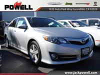 LOCALLY OWNED AND TRADED... ***TOYOTA CAMRY SE***