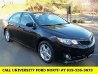 Clean CARFAX. 2012 Toyota Camry SE Attitude Black