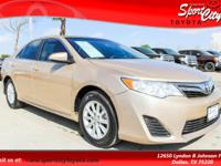 Just Reduced! Carfax One Owner, Camry LE, 8-Way Power