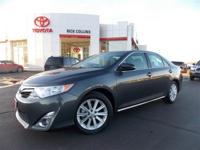 One Owner 2012 XLE Camry! Leather interior with V6