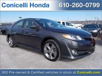 This 2012 Toyota Camry SE has 107,727 miles! Priced to