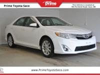 Toyota Certified! 2012 Toyota Camry in Super White!