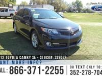 2012 Toyota Camry SE. *** Still under Warranty ***.