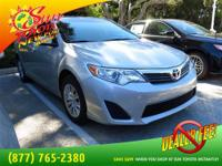Gets Great Gas Mileage: 35 MPG Hwy. Toyota CERTIFIED!!!