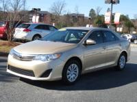 Gas miser! One-owner! This 2012 Camry is for Toyota