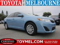 Basic but affordable 2012 Toyota Camry LE. Equipped