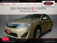 2012 TOYOTA CAMRY Sedan LE Our Location is: Sloane