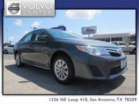 This 2012 Toyota Camry LE w/ 16 Inch Wheels, Bluetooth
