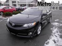Camry SE w/ factory moonroof! One Owner Trade with a
