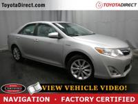 2012 Toyota Camry Hybrid XLE TOYOTA CERTIFIED!