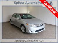 Toyota Camry Hybrid XLE CARFAX One-Owner. Certified.