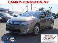 Camry XLE, 4D Sedan, and 6-Speed Automatic. Toyota