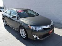 This 2012 Toyota Camry XLE is offered to you for sale