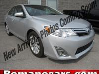 A 2012 toyota camry with less than 45,000 miles on it!