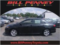 2012 Toyota Corolla 4 Dr Sedan S Our Location is: Bill