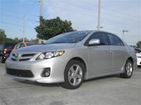 2012 Toyota Corolla S, 1 FLORIDA OWNER CLEAN VEHICLE