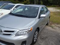 Options:  2012 Toyota Corolla L 4Dr Sedan