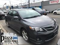 Recent Arrival! Certified. 2012 Toyota Corolla S