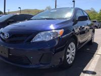 Come see this 2012 Toyota Corolla LE. Its Automatic