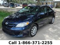 2012 Toyota Corolla LE *** Still under Warranty ***