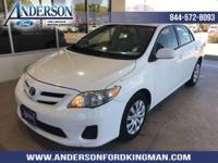 This Toyota Corolla has a strong Gas I4 1.8L/110 engine