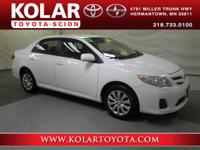 Local Trade-in. Corolla LE. Move quickly! Nice car! How
