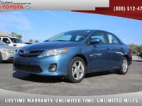 2012 Toyota Corolla LE, *** FLORIDA OWNED VEHICLE ***