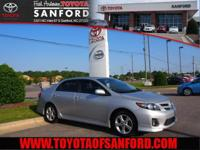 Corolla S, Classic Silver Metallic, **NEW CAR RATES