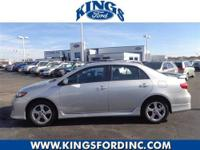2012 Toyota Corolla S Our Location is: Kings Volkswagon