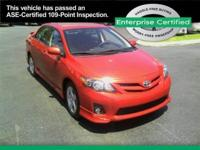 2012 Toyota Corolla S Our Location is: Enterprise Car