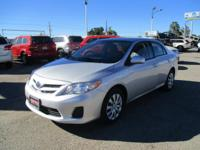 Come test drive this 2012 Toyota Corolla! Simply a