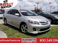 We're excited to offer this capable 2012 Toyota Corolla