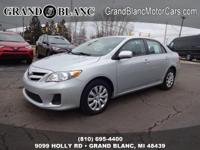 2012 COROLLA LE ****USB Port** Good ConditionThis