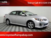 Options:  2012 Toyota Corolla S|Silver| If You've Been