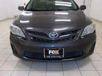 This 2012 Toyota Corolla S is proudly offered by FOX